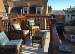 Our Private Ocean View Roof Deck